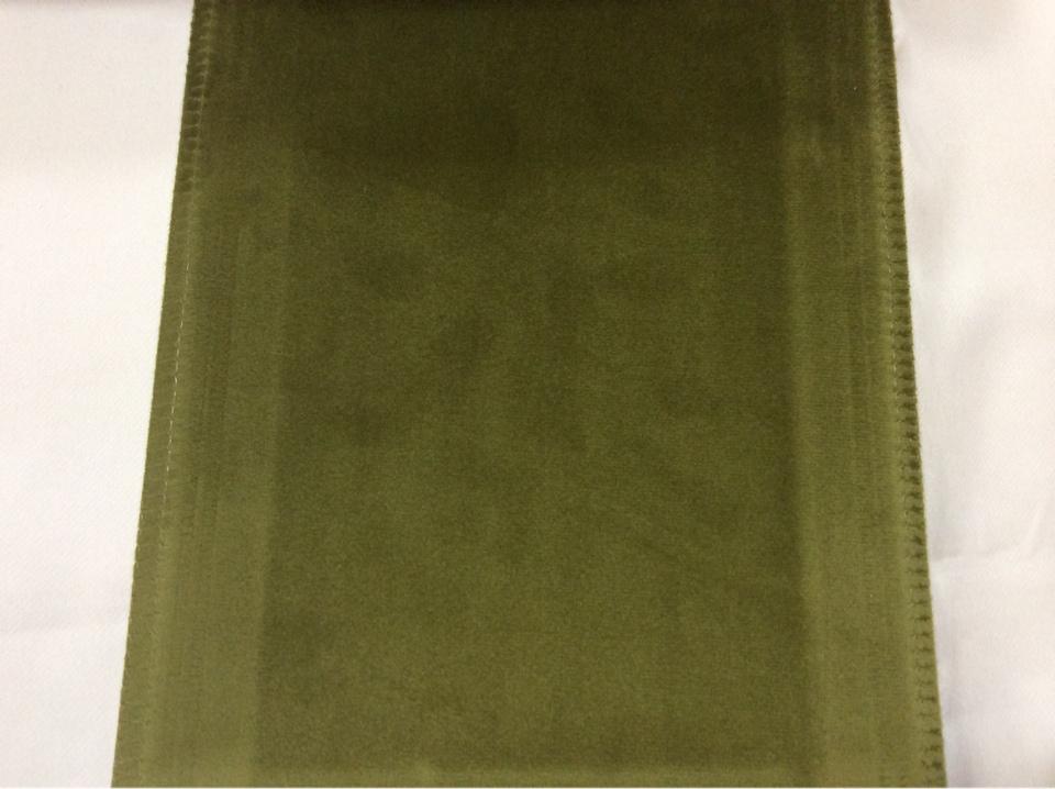 Заказать бархат в Москве Haven, col 32. Италия, Европа, портьерная ткань. Травяной цвет