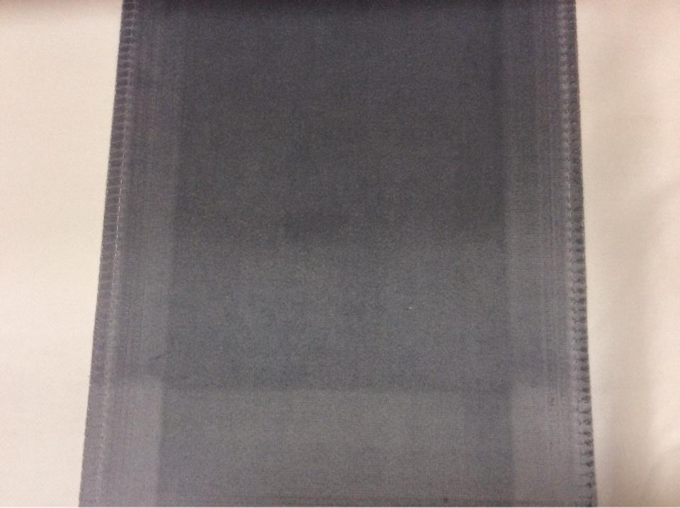 Роскошный бархат с эффектом пыльного покрытия Haven, col 40. Италия, Европа, портьерная ткань. Цвет серый