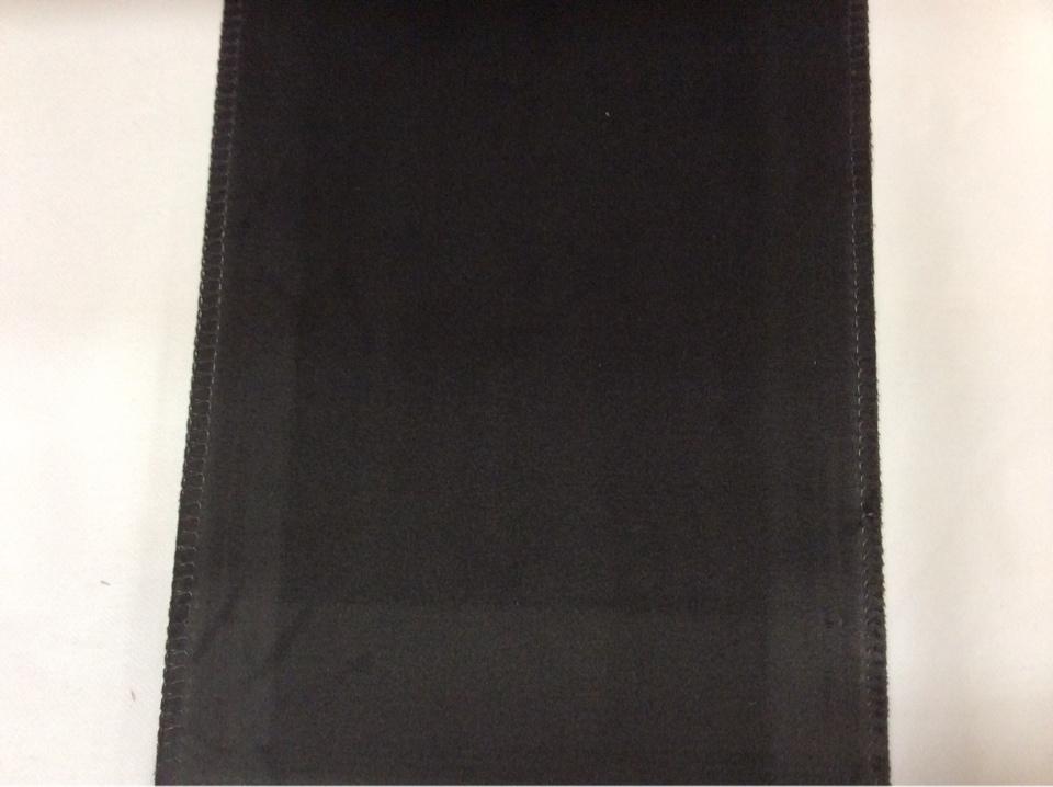Купить бархатную ткань для штор в Москве Haven, col 42. Италия, Европа, портьерная. Угольно-черный цвет