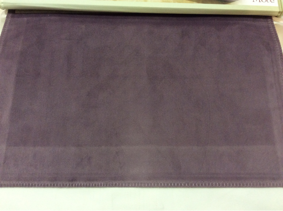 Красивый бархат для штор с эффектом пыльного покрытия Haven, col 01. Европа, Италия, портьерная однотонная ткань аметистового цвета
