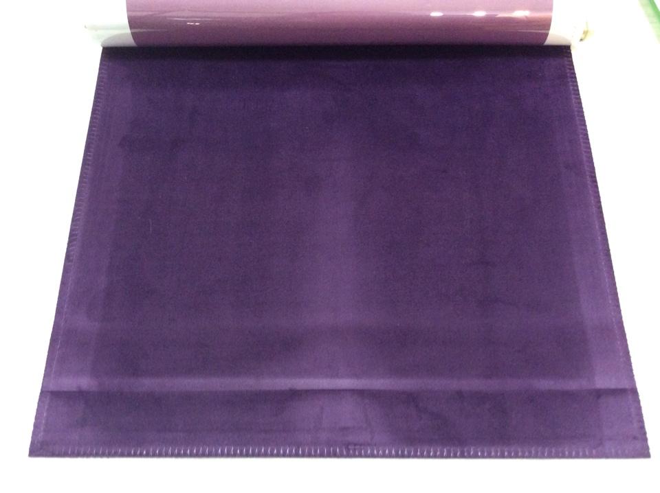 Итальянский бархат фиолетового цвета Haven, col 03. Италия, Европа, портьерная ткань
