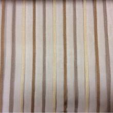 Купить тюль в стиле минимализм, хай тек, лофт, модернизм Palmyra, col 43. Италия, тонкий тюль. На шоколадном фоне чередование бежевых, каппучино и карамельных полос