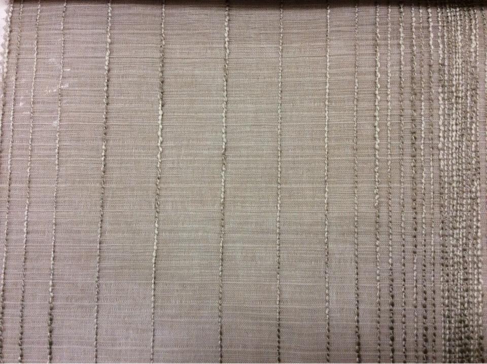 Итальянский тюль в стиле минимализм, хай тек, лофт, модерн Palmyra, col 07. Полупрозрачный тюль. а серо-бежевом фоне вертикальные хаотичные полосы