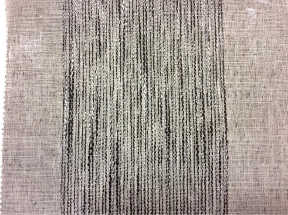 Купить легкий тюль в интернет-магазине Palmyra, col 11. Италия, тонкая полупрозрачная ткань. На сером фоне вертикальные широкие полосы (15см) чёрно-серого оттенка