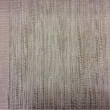 Тюлевая полупрозрачная ткань на серо-бежевом фоне вертикальные широкие (15см) полосы серого и ванильного оттенков Palmyra, col 14. Италия, тюль