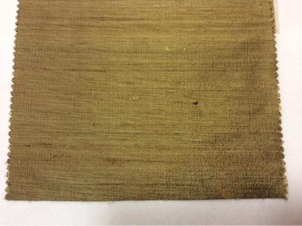 Купить настоящий шёлк в Москве в интернет-магазине Gabriella, col 070. Индия, портьерная ткань. Золотисто-бронзовый оттенок, меланж