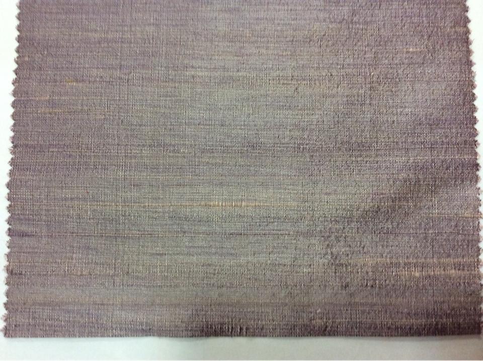 """Купить ткань чесуча в Москве """"дикий шёлк"""" Gabriella, col 110. Индия, портьерная ткань для штор. Сиреневые оттенки, меланж"""