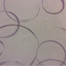 Купить тюль из полиэстера в Москве 2522/43. Италия, тонкий тюль. На прозрачном фоне сиреневые абстрактные круги в стиле нео-модерн, арт-Деко