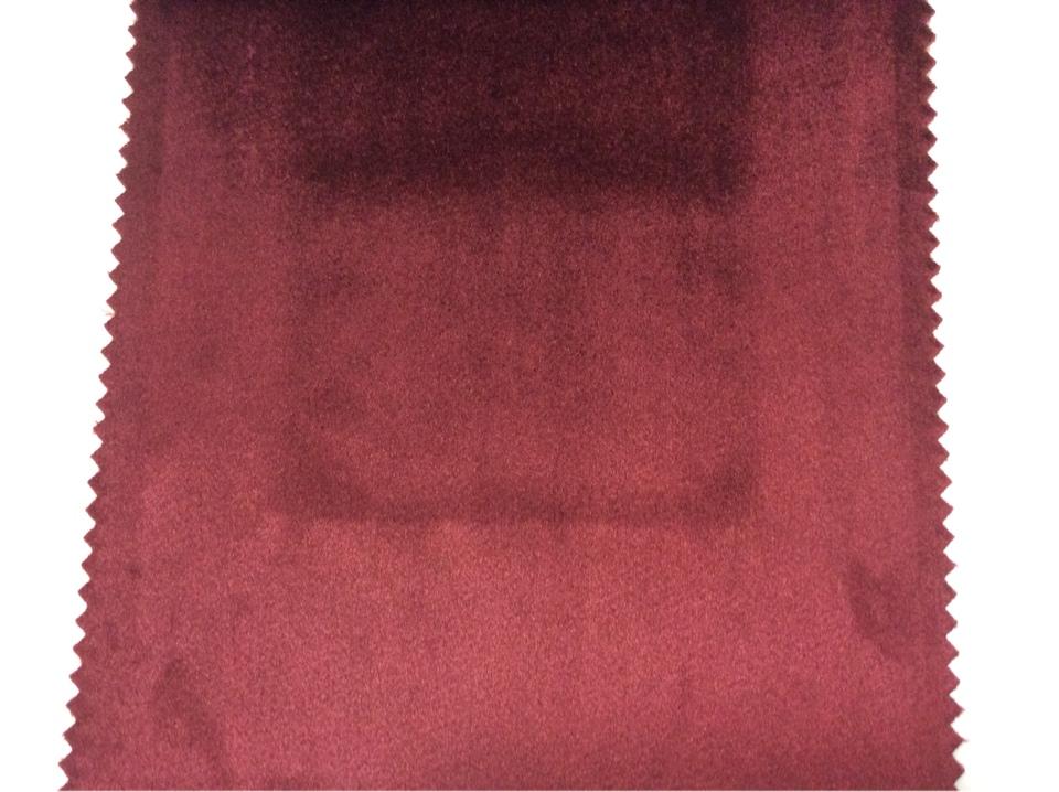 Купить итальянский бархат в Москве 2419/31. Италия, каталог, портьерная. Цвет бордовый