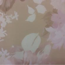 Купить турецкий тюль с нежными размытыми цветами в бежево-розовых тонах в Москве Georgia Suit, col 1157. Турция, тюль