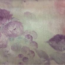 Купить ткань из атласа в магазине через интернет в Москве Nevalya, col 1027. Турция, портьерная ткань. Нежные размытые цветы в розово-сиреневых оттенках