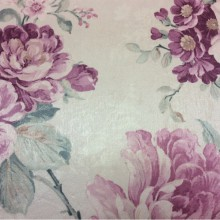 Шикарная ткань с яркими цветами в розовых оттенках Michel, col 57. Турция, портьерная ткань для штор.