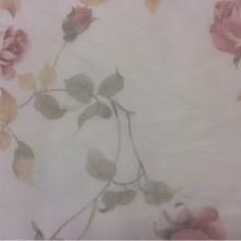 Красивый тюль — сетка из Турции Capeinick Suit, col 1271. 100% полиэстер высотой 2,90 метра. На прозрачном фоне розы в розовых оттенках
