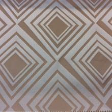 Портьерная ткань для гостиной, студии, кабинета, детской и кабинета Арт: 2549/73. Итальянский каталог ткани. Асимметричные ромбы оттенков бронзы и морской волны
