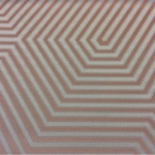 Купить модную атласную ткань в современном стиле в Москве Арт: 2542/73. Итальянский каталог ткани. Геометрический рисунок в оттенках цвета морской волны и цвета бронзы