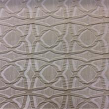Портьерная ткань в современном стиле с хлопковой нитью Арт: 2545/13. Итальянский каталог. Рельефная ткань с абстрактным рисунком бежевого оттенка