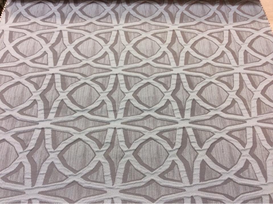 Купить ткань с добавлением хлопка Арт: 2545/73. Итальянский каталог. Рельефная ткань с абстрактным рисунком светло-бирюзового и серого оттенков