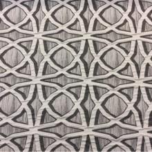 Шикарная портьерная ткань в современном стиле с хлопковой нитью Арт: 2545/61. Итальянский каталог. Рельефная ткань с абстрактным рисунком в чёрно-серых оттенках