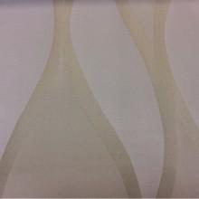 Купить атласную ткань в стиле модерн, арт-деко, ар-нуво Арт: 2543/19. Итальянский каталог. Гибкие вертикальные линии бежевого оттенка и бронзы