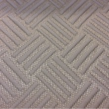 Фото красивой ткани из атласа Арт: 2536/17. Итальянский каталог ткани. Геометрический объёмный рисунок в бежевых оттенках