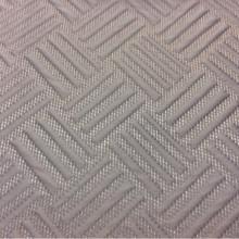 Портьерная ткань из рельефного атласа на сетчатой основе Арт: 2536/71. Фото итальянской ткани, каталог портьерной ткани. Геометрический объёмный рисунок в голубовато-дымчатых оттенках