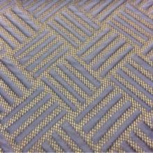 Портьерная ткань из рельефного атласа на сетчатой основе Арт: 2536/70. Итальянский каталог, фото ткани. Геометрический объёмный рисунок в синих оттенках и цвета бронзы