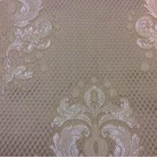 Элитная ткань из Италии с рифлёной фактурой купить в Москве Арт: 1320B, col 9. Итальянский каталог ткани для штор. «Дамаски» в серебристо-бежевых тонах