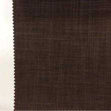 Ткань блэкаут в магазине ткани «Новый Стиль» в Москве Ibiza, col 56. Итальянский каталог портьерной ткани. Ткань блэкаут с геометрическими хаотичными линиями шоколадного оттенка