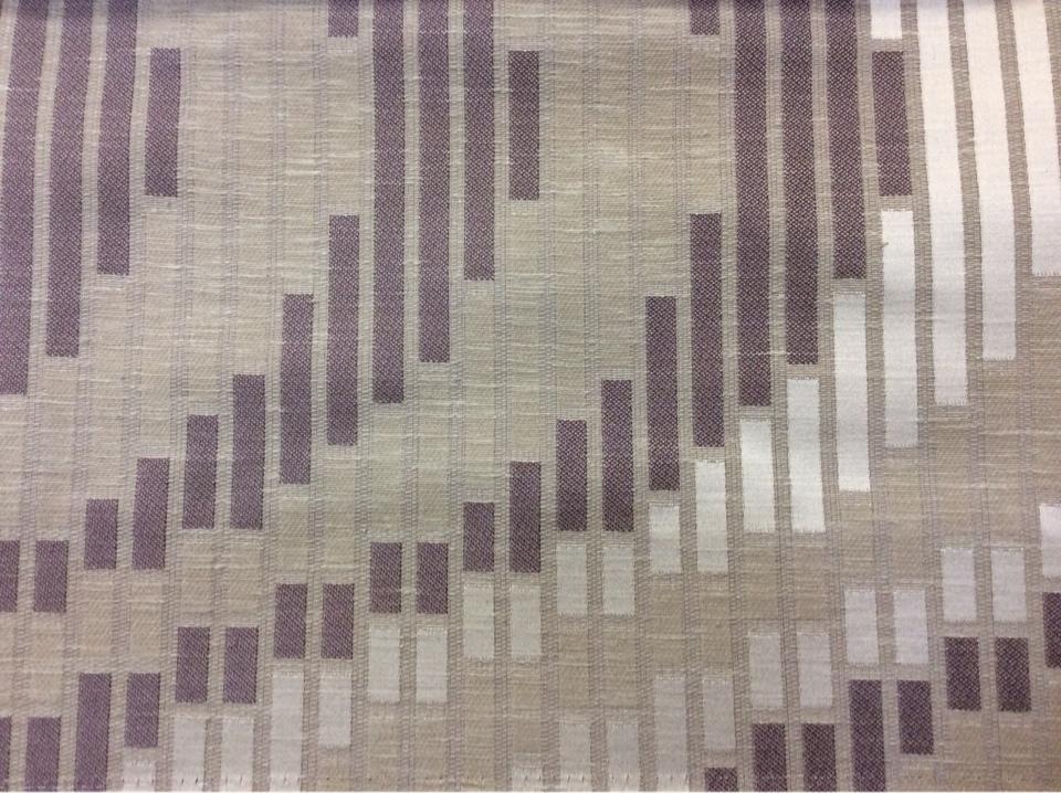 Необычная, оригинальная ткань с абстракцией Supreme, col Parma, Ширина ткани 1,48 метра. Бельгия, каталог портьерной ткани для штор. Молочный, бежевый, сиреневый оттенки