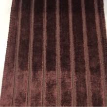 Красивый бархат из натуральных волокон с вертикальной полоской ( шаг 2см) Orbis, col 01. Бельгия, портьерная плотная ткань для штор.