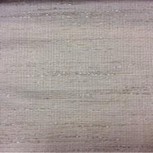 Ширина ткани 1.52 метра! Экологичная портьерная ткань из льна, хлопка, с добавлением люрексной нити 2601/11. Немецкий каталог ткани. В молочно-серебристых оттенках