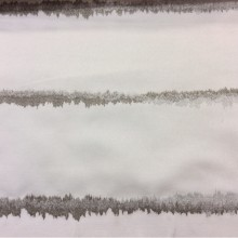 Портьерная атласная ткань с абстрактными горизонтальными линиями арт: 2587/12. Немецкий каталог портьерной ткани. Белый, бежевый, серый оттенки