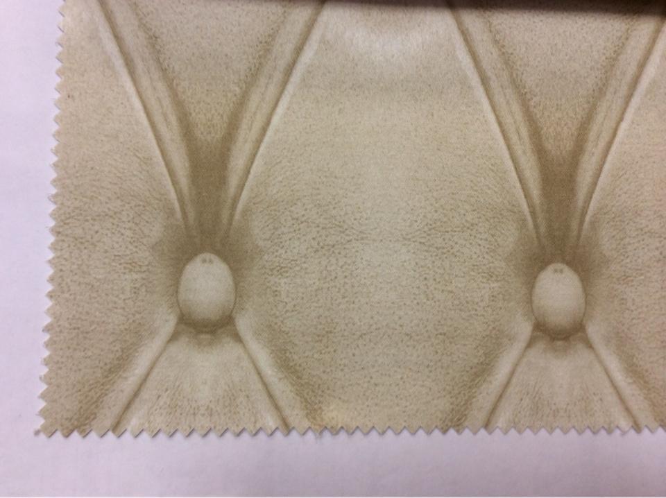 Купить ткань с рисунком кожи в интернет-магазине Москвы Geometric, col 30. Испанский каталог портьерной ткани для штор. Имитация кожаного покрытия в кремовых и бежевых оттенках
