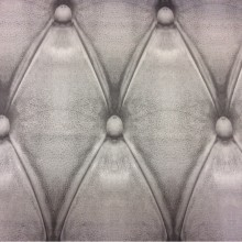 Плотная атласная ткань с хлопком в современном стиле Geometric, col 42. Испанский каталог ткани, плотная портьерная ткань для штор. Имитация кожаного покрытия в серых и стальных оттенках