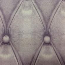 Плотная атласная ткань в современном стиле Geometric, col 47. Испанский каталог ткани, портьерная. Имитация кожаного покрытия в сиреневых оттенках (аметист)