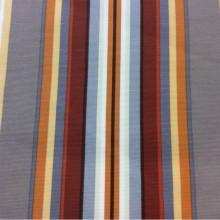 Красивая ткань из хлопка в яркую вертикальную полоску в интернет-магазине Azov Pik, des: Camberley B, col: 07 Naranja. Испанский каталог портьерной ткани.