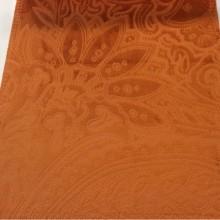 Красивый бархат с теснённым орнаментом в стиле пейсли, ширина 141 см, Murcia, col 06, Бельгия.
