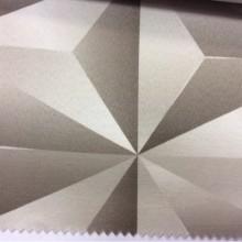 Плотная атласная ткань с хлопком в современном стиле на заказ в Москве, Geometric, col 08, Испанский каталог ткани для штор.
