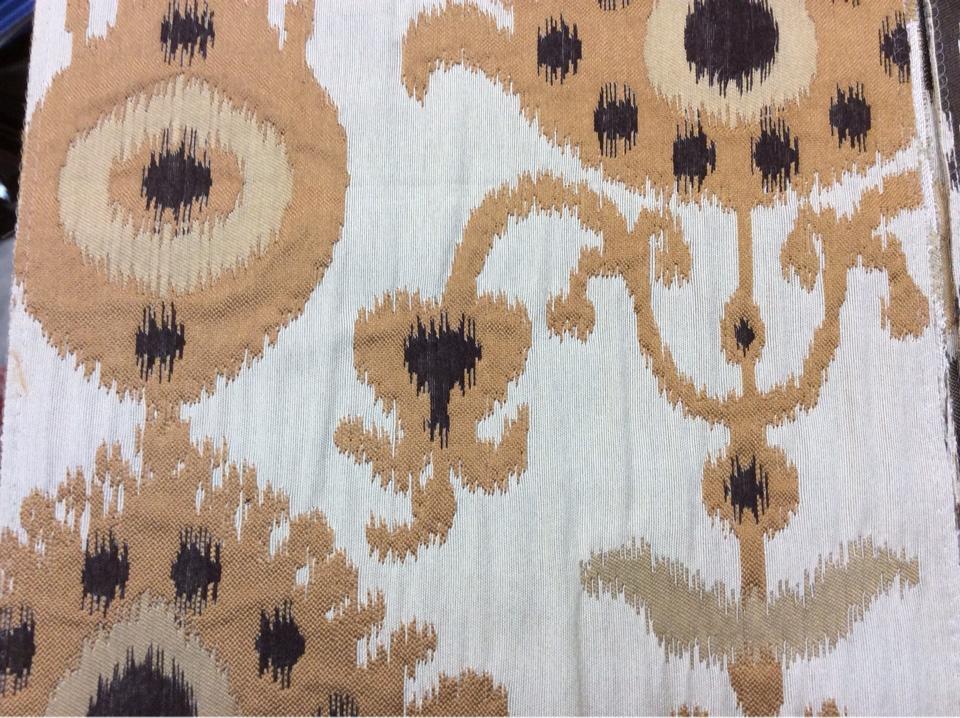 Рельефная ткань в восточном стиле с вискозной нитью, Высота 3,0, Samarkand, col 09,  Итальянский каталог плотной, портьерной ткани для штор на заказ.