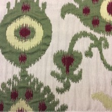 Купить рельефную ткань в восточном стиле с вискозной нитью, Samarkand, col 02, Итальянский каталог ткани для штор на заказ.