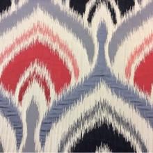 Купить рельефную ткань в восточном стиле с вискозной нитью, Стилизованные «дамаски» в бежевых, красных, грифельно-черных оттенках,Высота 3 метра, Samarkand, col 28, Итальянская ткань из итальянского каталога ткани для штор на заказ.