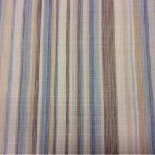 Купить портьерную ткань на заказ в интернет-магазине, Чередование вертикальных голубых, бежевых, коричневых полос, Ширина 1,50, Marine Stripe, col 1203, Турция.