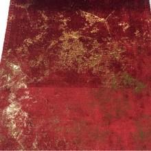 Купить бархат из натуральных волокон, нанесение — абстракция, эффект «венецианской штукатурки», ширина 143 см, Collado, col 02, Бельгия.