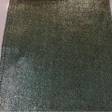 Красивый бархат из натуральных волокон  с нанесением мелких золотистых паеток, ширина 142 см, Elda, col 01, Бельгийский каталог ткани для штор.