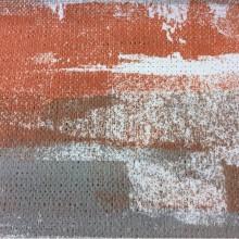 Заказать портьерную плотную ткань из хлопка в современном стиле в интнрнет-магазине Москвы, Абстрактный рисунок в серо-терракотовых оттенках, Высота 2,80, Super Zamo -A, col Caldera 130, Испанский каталог портьерной ткани для штор на заказ.