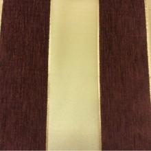 Купить атласную ткань с набивкой из шенилла, Золотистый фон, шенилл цвета марсал, Высота 3,0, Арт: Morocco, col 19, Итальянский каталог ткани для пошива штор на заказ.