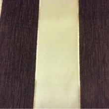 Заказать атласную ткань с набивкой из шенилла, Золотистый фон, полосы шоколадного оттенка, Высота 3,0, Morocco, col 23, Италия.