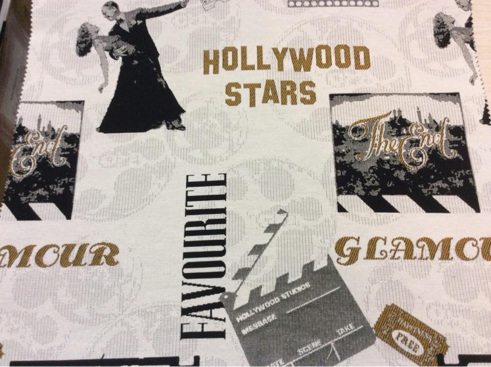 Натуральная ткань с хлопковой нитью на заказ в интернет-магазине, Cinema, col 13, Испанский каталог портьерной ткани для пошива штор.