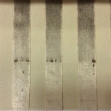 Натуральная ткань с бархатной набивкой, На светлом фоне вертикальные полосы бежевого оттенка, Ширина 1,40, Bosco, col 30, Итальянский каталог ткани для штор на заказ.