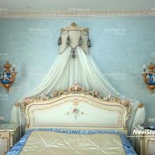 Балдахин и покрывало в спальню
